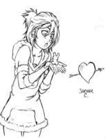 Rukia loves Chappy by StriderCrestone