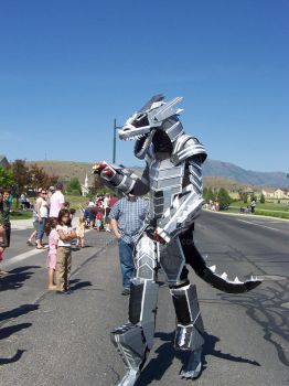 dragon costume in parade by TIMECON