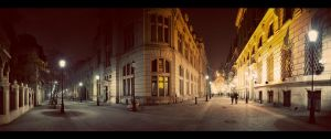 Bucharest Nights II by PortraitOfaLife