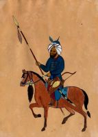 Mughal Cavalry by M4m3t