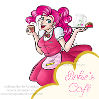 Welcome to Pinkie's Cafe by Brunita