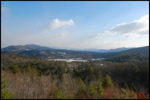 Murphy,NC Mountains by mycarisfaster