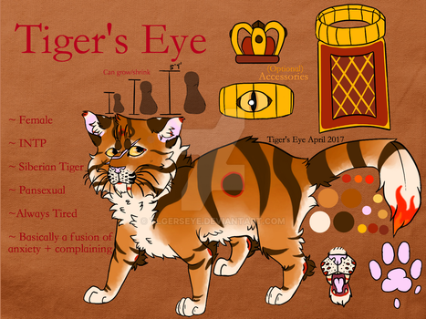 Tiger's Eye Reference 2017 (Part 2) by Tigerpool