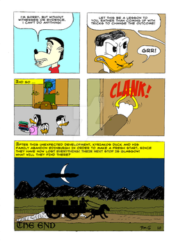 The Life and Times of Tzatzikis Duck (10th page) by Quackmore