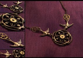 Migration Necklace by hrekkjavakaastarkort