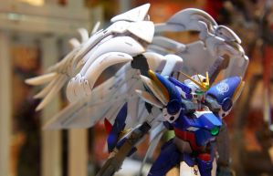 Wing Gundam 0 by biomonkz
