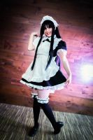 Mio Akiyama Cosplay - Maid Outfit by KendraKei