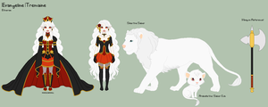 WoR - Evangeline Reference Sheet by porcelian-doll