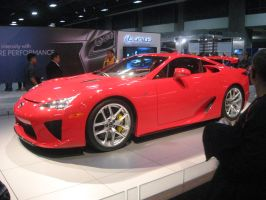 Red Lexus LFA 2 by granturismomh