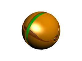 Metroid Morph Ball by SuccubusAlice