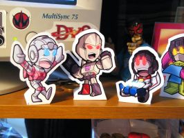 Lil Formers standees by MattMoylan