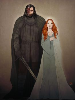 Sandor and Sansa v2 by Emmanation