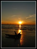Jekyll Island Sunset 005 by sees2moons