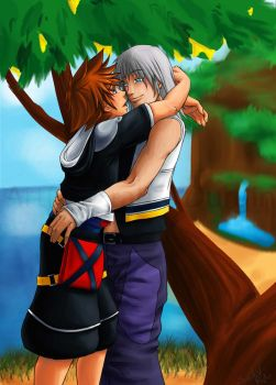 KH: Under the Tree by Soularis