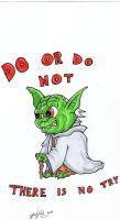 Yoda And His PSA by johnnyism