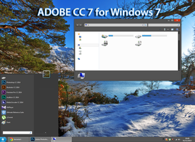 Adobe CC 7 for Windows 7 by William-Tael