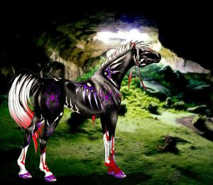 Anansi the cave-horse