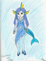 Vaporeon Costume Design by LindyArt