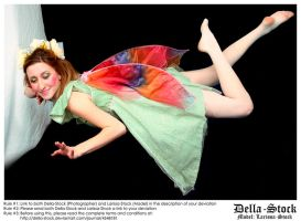 Flying Fraulein Fairy by Della-Stock