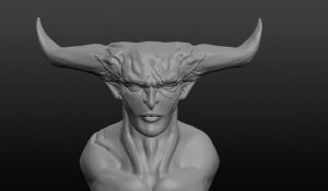 Iron Bull Sculpt by remthemighty