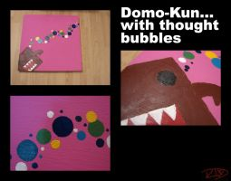 Domo-kun With Thought by RubyDoom