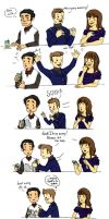 Klaine and the splilled drink by lalla17