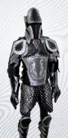 Black And Silver Armor - Final by Azmal