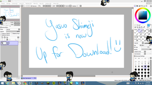 LoL: Yasuo Shimeji -Download Is Now Live- by CookiesNLazars