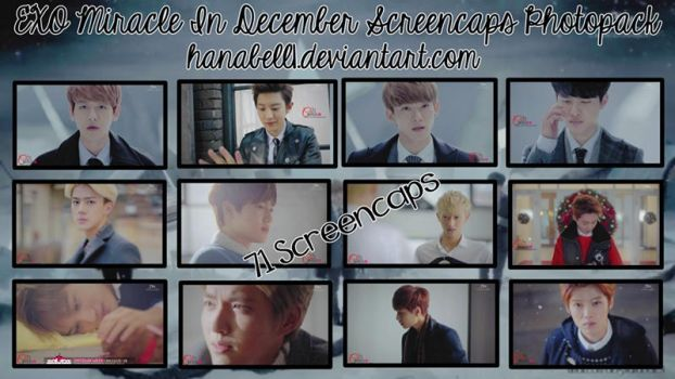 Photopack#21 EXO Miracle In December Screencaps by HanaBell1