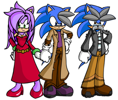 The Ones Who Raised Sonic by Rudolphtheehcidna