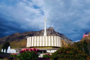 LDS Provo Temple 1 by creativelycharged