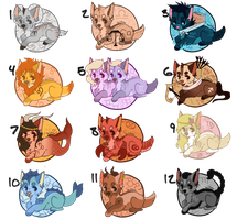 .: Zodiac Sign Puppies  :. [closed] by Cannidae