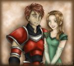 Jeigan and Alissa Russet by CallistoHime