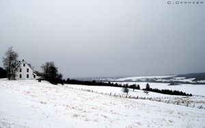 The Countryside in Winter by Vexidus