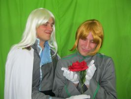 Kunsite and Zoisite - Rose by LiveSailorMoonMovie