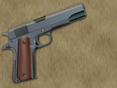 Colt M1911 by Little-Gunboy