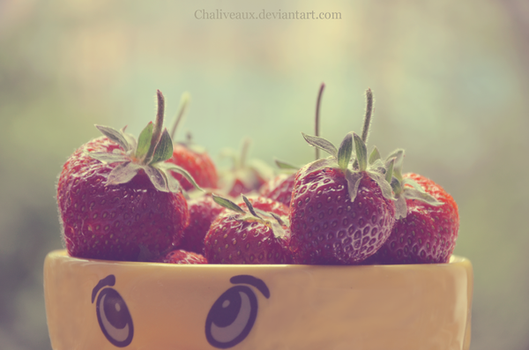 in a strawberry mood by Chaliveaux