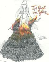 The Girl on Fire by Piecesintheirgames