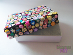 Hand Decorated Fimo Jewellery Box by MonstArt