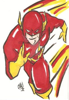 The Flash Cartoon Style by IanDWalker