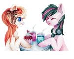 AT with GlitteryPony by pupuliima