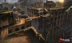Gears of War: Judgment early vis dev by Matchack
