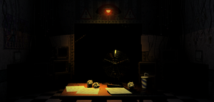 Actually Spooky FNAF 2 Office by Some-Crappy-Edits
