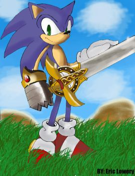 Sonic and the Black Knight by ss2sonic