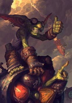 Goblin vs Gnomes entry by EdCid