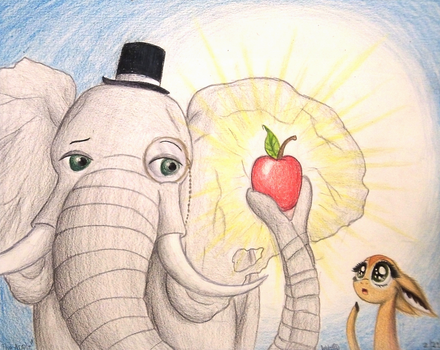The Apple by TheFriendlyElephant