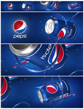 Pepsi - Outdoor Banner by dr4oz