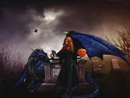The Dark Witch by FQPhotography