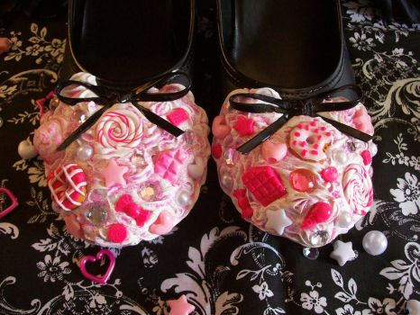 Sweets Deco Den Shoes by lessthan3chrissy