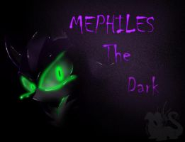Mephiles the heartless _also laugh similarities_ by InkTailedDragon